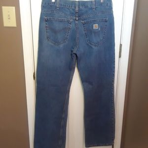 36X34 CARRHART MENS Jeans LOOSE STRAIGHT